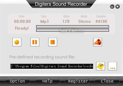Digiters Sound Recorder Screenshot 3