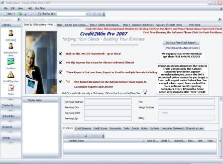 CreditWin Pro Screenshot