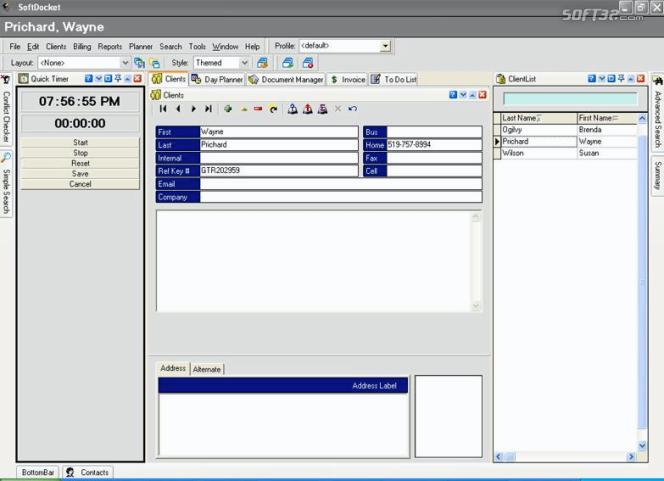 SoftDocket 2006 Screenshot 3