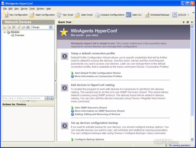 WinAgents HyperConf Screenshot 3