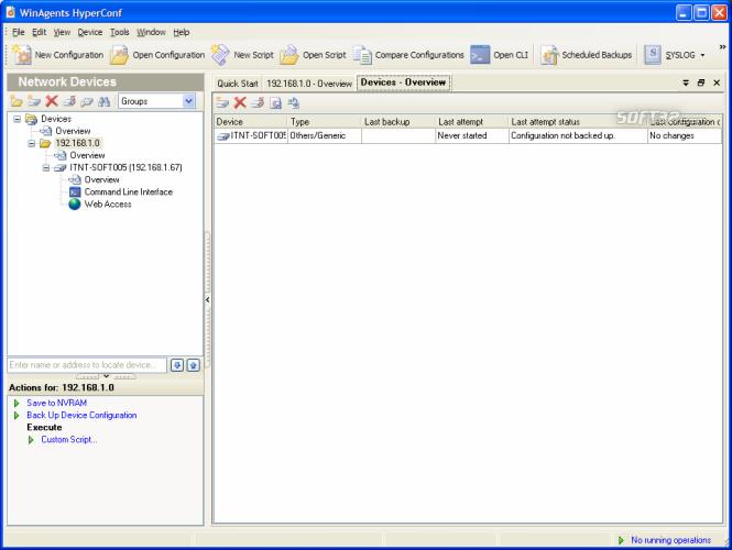 WinAgents HyperConf Screenshot 4