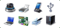 Icons-Land Vista Style Hardware & Devices Icon Set 1