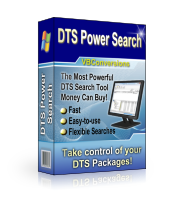 DTS Power Search Screenshot