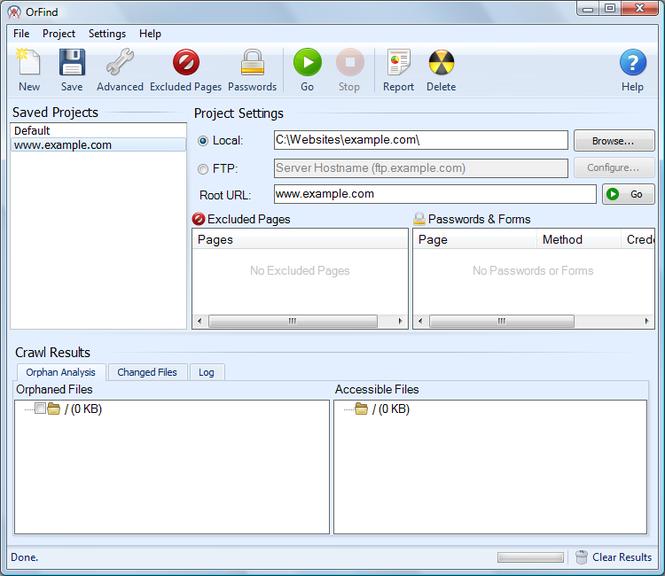Inspyder OrFind Screenshot 1
