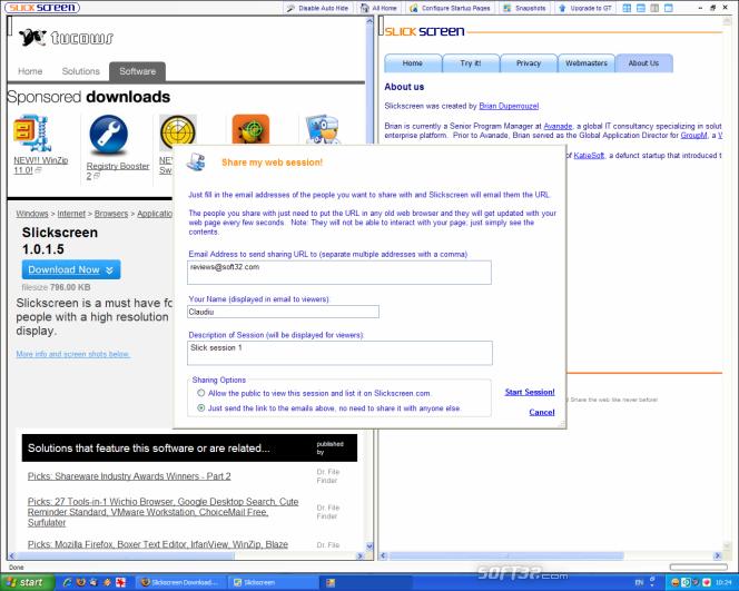 Slickscreen Screenshot 3