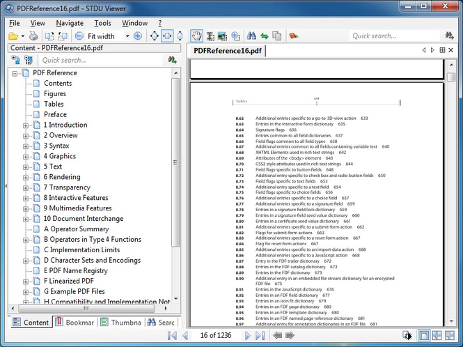 STDU Viewer Screenshot 1