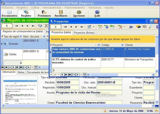 MSD Documents Multiuser Screenshot 3