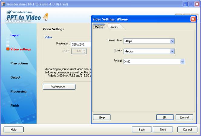 Wondershare PPT to Video Screenshot 3
