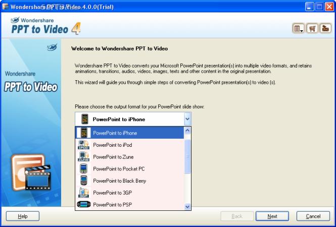 Wondershare PPT to Video Screenshot 7