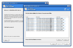 WinUtilities EXE Protector Screenshot 1