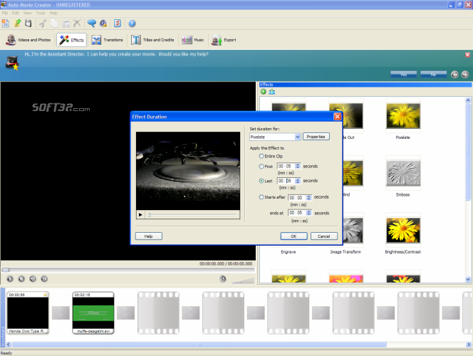 Auto Movie Creator Screenshot 3