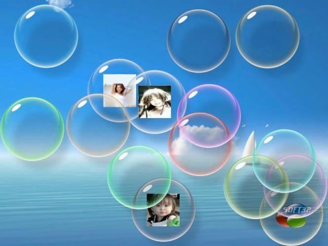 flow Bubbles screensaver Screenshot 2