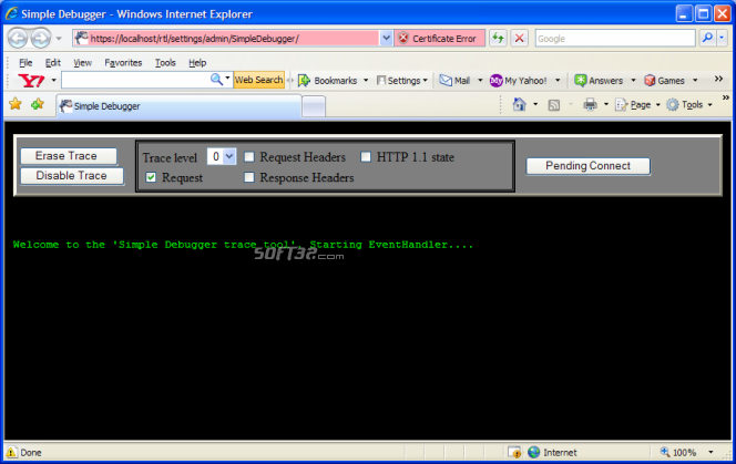 BarracudaDrive Pro Web Server Screenshot 6