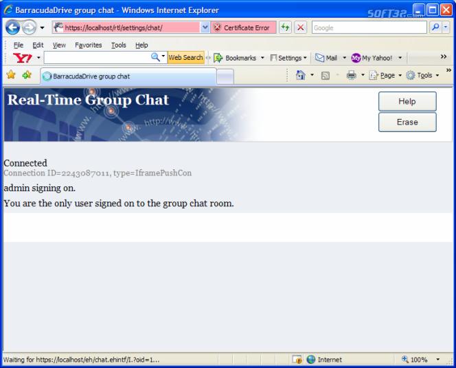 BarracudaDrive Pro Web Server Screenshot 7