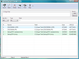 Duplicate File Hunter Screenshot 1