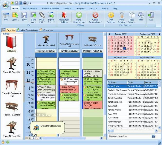 Cozy Restaurant Reservation Screenshot 2