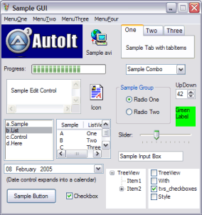 AutoIt Screenshot