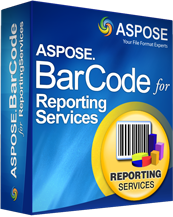 Aspose.BarCode for Reporting Services Screenshot