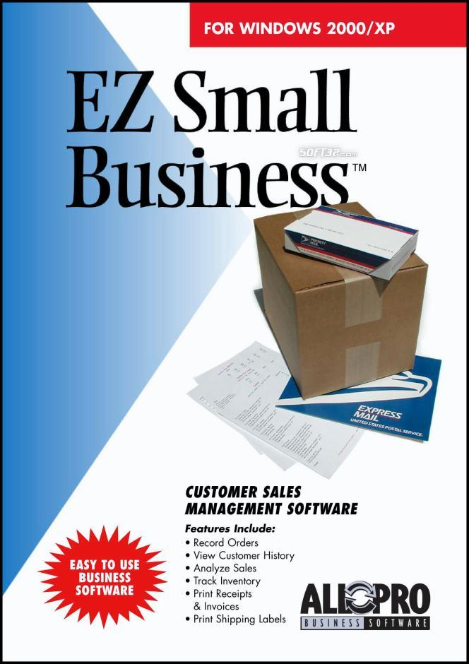 EZ Small Business Software Screenshot 3
