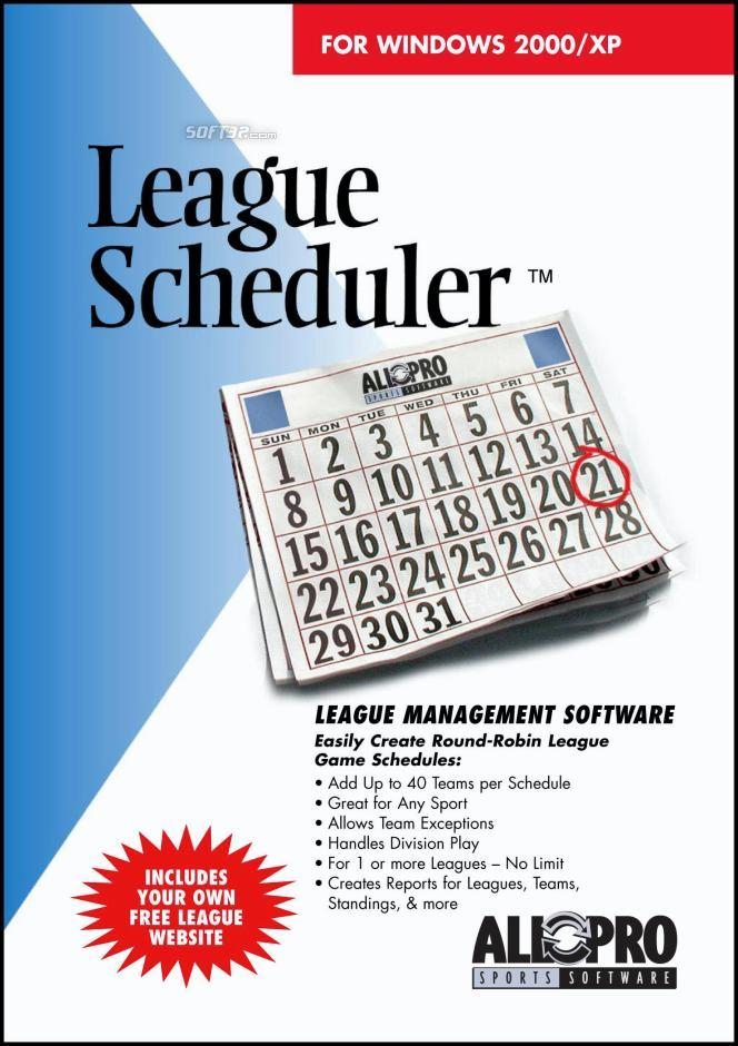 League Scheduler Screenshot 3