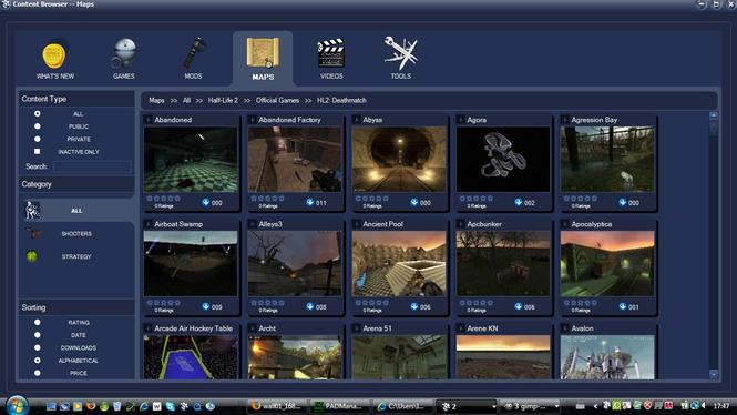 CrosuS Total Game and Mod Management Screenshot