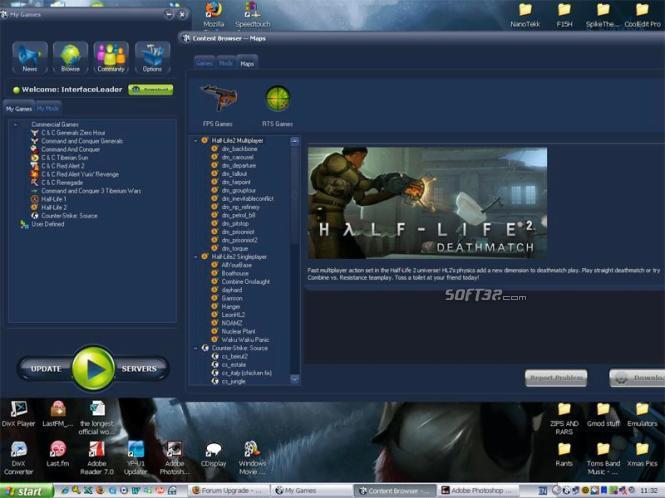 CrosuS Total Game and Mod Management Screenshot 3