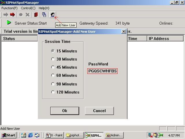 Hotspot Manager Screenshot