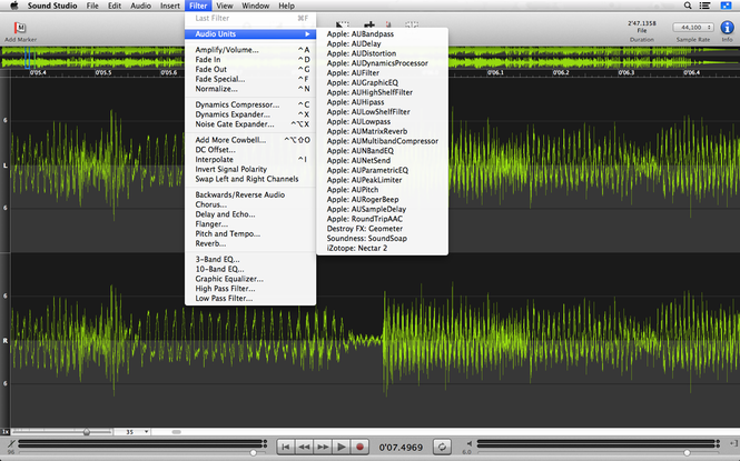 Sound Studio Screenshot 4