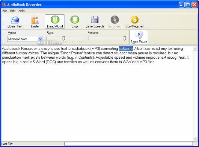 Audiobook Recorder Screenshot 5