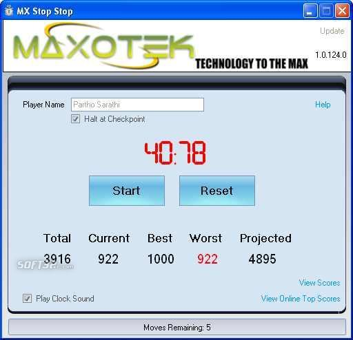MX Stop Stop Screenshot