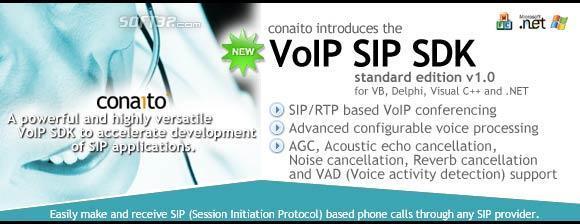 VoIP SIP SDK for .NET and ActiveX Screenshot 2