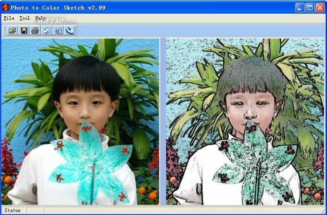 Photo To Color Sketch Screenshot 2