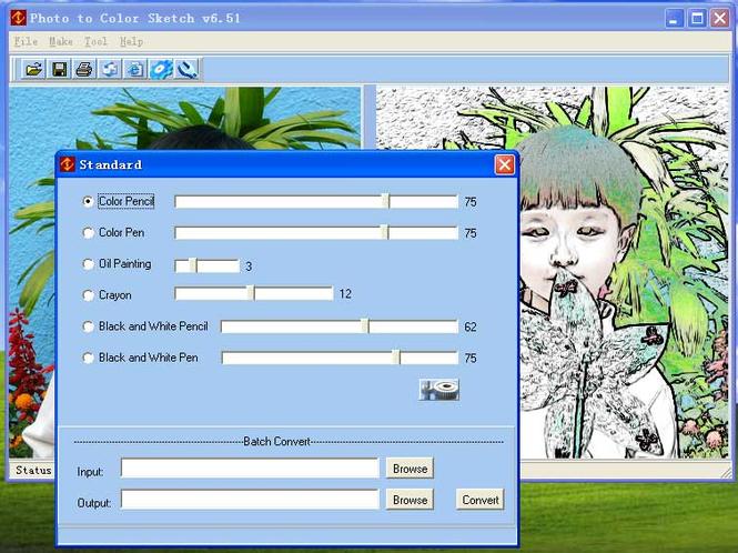 Photo To Color Sketch Screenshot