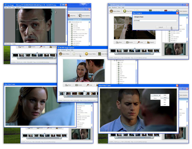 IM DVD IMAGE CAPTURE Screenshot