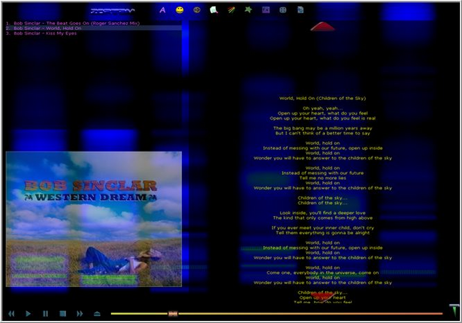 Zortam Mp3 Player Screenshot 1