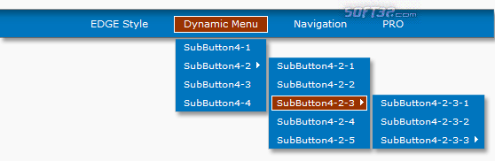 Dynamic Menu for DW Screenshot 2