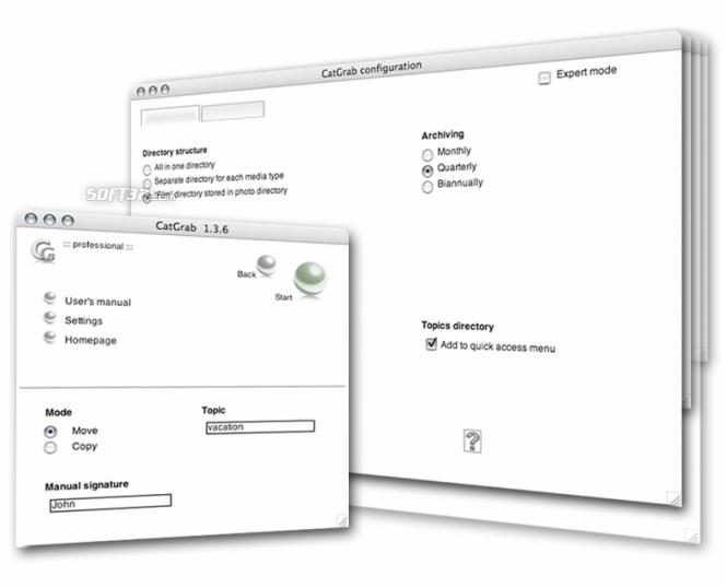 CatGrab for Mac Screenshot 2