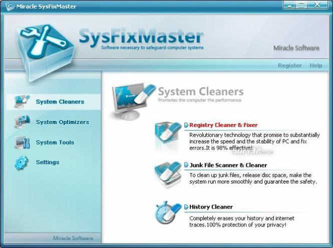 SysFixMaster Screenshot