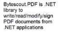 Bytescout PDF SDK 1