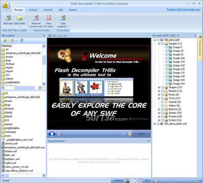 Flash Decompiler Trillix Screenshot 3