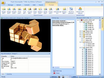 Flash Decompiler Trillix Screenshot 1