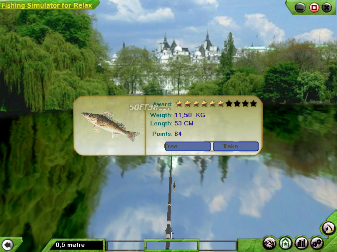 Fishing-Simulator for Relaxation Screenshot 3