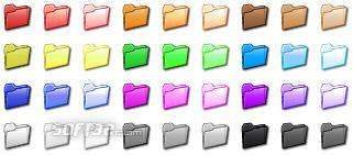 Folder Color Icon Set Screenshot 3