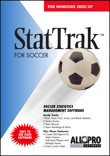 StatTrak for Soccer Screenshot 1