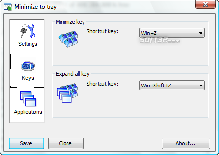 Minimize to tray Screenshot 4