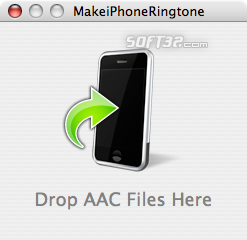 MakeiPhoneRingtone Screenshot