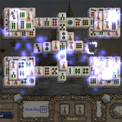 Aerial MahJong Screenshot