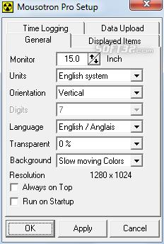 Mousotron Screenshot 2