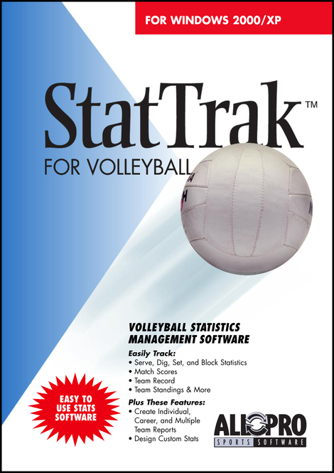 StatTrak for Volleyball Screenshot 1