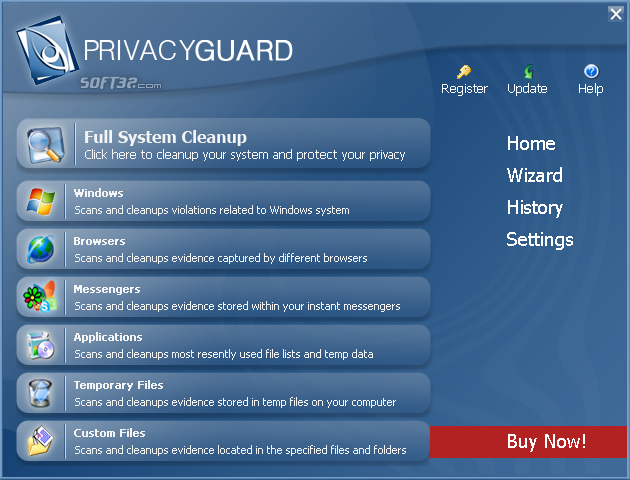 PrivacyGuard Screenshot
